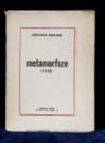 CONSTANTIN NISIPEANU, METAMORFOZE - BUCURESTI 1934 * DEDICATIE*