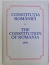 CONSTITUTIA  ROMANIEI 1991 ( EDITIE BILINGVA ROM. - ENGLEZA  )
