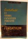 CONTRIBUTII LA STUDIUL CAPACITATII PORTANTE A FUNDATIILOR de EUGEN ZAHARESCU , 1961