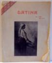DATINA, ARTISTICA-LITERATURA-SOCIALA, AN. VIII, NR. 4-6 de MIHAIL GUSITA , 1930