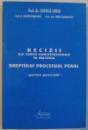 DECIZII ALE CURTII CONSTITUTIONALE IN M,ATERIA DREPTULUI PROCESULA PENAL , PARTE GENERALA , 2001
