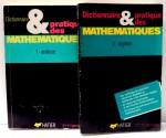 DICTIONNAIRE & PRATIQUE DES MATHEMATIQUES par PIERRE LAMBERT...CHRISTIAN PINSON, VOL I-II , 1989