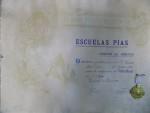 Diploma de merit in limba spaniola