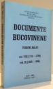 DOCUMENTE BUCOVINENE de TEODOR BALAN , VOL VIII - VOL IX , 2006