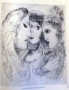 DRAWINGS FOR THE BIBLE by MARC CHAGALL , 1995