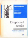 DREPT CIVIL ROMAN, INTRODUCERE IN DREPTUL CIVIL, SUBIECTELE DREPTULUI CIVIL, EDITIA A VIII-A, REVAZUTA SI ADAUGITA de MARIAN NICOLAE, PETRICA TRUSCA, 2003