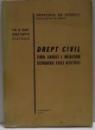 DREPT CIVIL , TEORIA GENERALA A OBLIGATIILOR , RASPUNDEREA CIVILA DELICTUALA de CONSTANTIN STATESCU , 1980