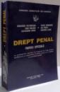 DREPT PENAL , PARTEA SPECIALA de GH. NISTOREANU , VASILE DOBRINOIU , 1995