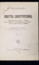 DREPTUL CONSTITUTIONAL de CONSTANTIN G. DISSESCU - BUCURESTI, 1915