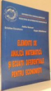 ELEMENTE DE ANALIZA MATEMATICA SI ECUATII DIFERENTIALE PENTRU ECONOMISTI de JUDITA SAMUEL, CRISTINA COCULESCU, EUGEN MIHAILESCU , 2004