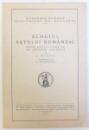 ELOGIUL SATULUI ROMANESC  - DISCURS ROSTIT LA 5 IUNIE 1937 IN  SEDINTA SOLEMNA de L. BLAGA , cu rspunsul d-lui I. PETROVICI , 1937 , EDITIE ANASTATICA , 1994