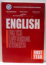 ENGLISH FOR THE LAW SCHOOL STUDENTS by OANA CAMBURI-BOARU, 2005