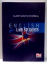 ENGLISH LAW STUDENTS de ELENA CODRUTA BADEA , 2012