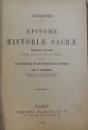 EPITOME HISTORIAE SACRAE par LHOMOND , 1893