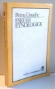 ESEURI ETNOLOGICE de PETRU URSACHE , 1986