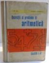 EXERCITII SI PROBLEME DE ARITMETICA de GH. ARTIN , HARALAMBIE CONSTANTINESCU , 1971