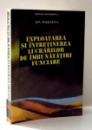 EXPLOATAREA SI INTRETINEREA LUCRARILOR DE IMBUNATATIRI FUNCIARE de ION MAGDALINA , 1994