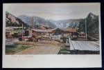 Fabrica de Cherestea Brezoiu - Carte postala foto