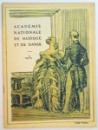 FAUST , ACADEMIE NATIONALE DE MUSIQUE ET DE DANSE , 1931
