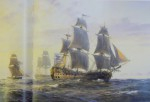 FIGHTING SHIPS 1750 - 1850 by SAM WILLIS , 2007