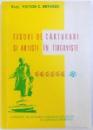 FIGURI DE CARTURARI SI ARTISTI IN TIRGOVISTE de VICTOR C. BRINDUS, 1982 *DEDICATIE