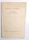 FILOSOFIA SI ISTORIA EI de IOAN GH. SAVIN , 1927