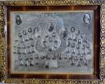 FOTOGRAFIE ''CORUL SCOALEI EPARHIALE DE FETE SI SEMINARULUI TEOLOGIC DIN CHISINAU'' 22 APRILIE 1938