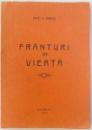 FRANTURI DE VIEATA de VINTILA OANCIA , 1944