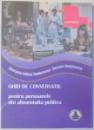 GHID DE CONVERSATIE PENTRU PERSOANELE DIN ALIMENTATIA PUBLICA de GEORGETA FELICIA TEODORESCU, ROXANA DUMITRESCU , 2009
