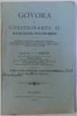 GOVORA SI CHESTIONARUL EI - BAI DE IOD SI DE PUCIOASA , SARATE SI FERO - BROMURATE de N.N. ZORILEANU , 1906