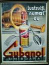 Guban, Timisoara, cromolitografie interbelica Lustruiti numai cu Gubanol