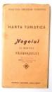 HARTA TURISTICA, NEGOIUL CU MASIVUL FAGARASULUI de H. ZEIDNER