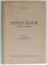 HIPPIAS MAIOR (DESPRE FRUMOS) de PLATON , 1943