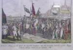 HOTIN.TRUPELE TURCESTI SI RUSESTI IN FATA CETATII HOTINULUI , SEPTEMBRIE 1788