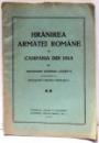 HRANIREA ARMATEI ROMANE IN CAMPANIA DIN 1913 de CUZEN V. , 1928