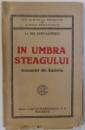 IN UMBRA STEAGULUI  - INSEMNARI DIN RASBOIU de GH. COSTACHESCU, 1921