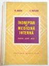 INDREPTAR DE MEDICINA INTERNA PENTRU CADRE MEDII de FL. MARIN , C. POPESCU , 1973