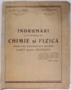 INDRUMARI IN LUCRARILE DE CHIMIE SI FIZICA de P.D. SENDROIU , I. DAN PAROCESCU , 1937
