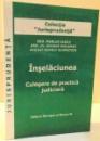INSELACIUNEA , CULEGERE DE PRACTICA JUDICIARA , 2007