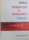 INTRODUCERE IN MANGEMENT  -GHID PENTRU O MAI BUNA PERFORMANTA IN AFACERI de MALCOM PEEL , 1994