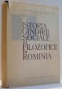 ISTORIA GANDIRII SOCIALE SI FILOZOFICE IN ROMANIA , 1964