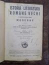 istoria literaturii ro, mane vechi si inceputurile celei moderne pantru clasa a VI-a