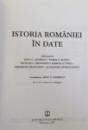 ISTORIA ROMANIEI IN DATE , eleborata de DINU C. GIURESCU ....ALEXANDRU STANCIULESCU , 2007
