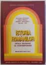 ISTORIA ROMANILOR  - EPOCA MODERNA SI CONTEMPORANA  - MANUAL PENTRU CLASA A VIII - A de OCTAVIAN CRISTESCU...RALUCA TOMI, 1992