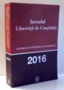 JURNALUL LIBERTATII DE CONSTIINTA , 2016