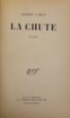 LA CHUTE par ALBERT CAMUS -  1956