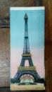La Tour Eiffel, Carte postala ilustrata dubla