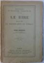 LE RIRE  - ESSAI SUR LA SIGNIFICATION DU COMIQUE par HENRI BERGSON , 1910