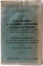 LEGEA PRIVITOARE LA DOBANDIREA SI PIERDEREA NATIONALITATII ROMANE - LEGEA NUMELUI de CONST . GR. C. ZOTTA , 1944