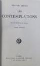 LES CONTEMPLATIONS par VICTOR HUGO , 1957